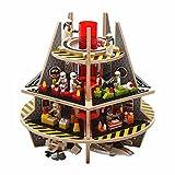 Base A3D Spielplattform für Mini Figuren, Kit 3 Sonderausgabe, Kompatibel mit allen großen Baukasten Marken