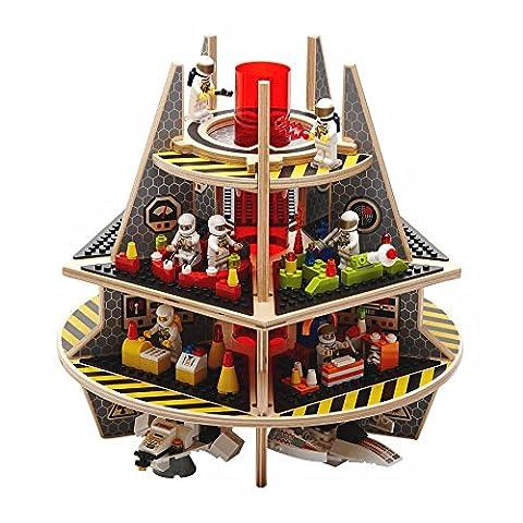 Base Ace, plateforme de jeu en 3D pour mini figurines,