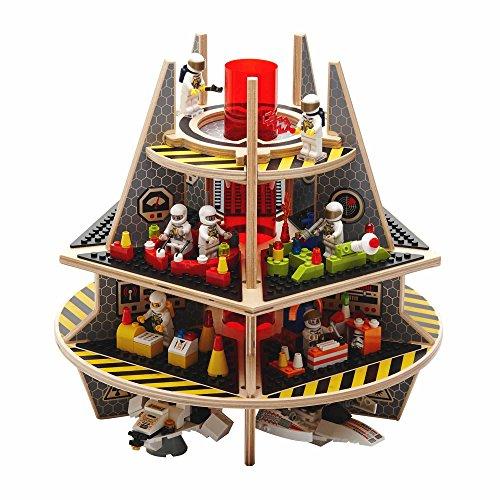 Boden Ace bab-k3–3001Talking Products Ltd Kit 3Special Edition 3D Play Plattform für Mini Figuren kompatibel mit allen wichtigen Konstruktion Spielzeug Baustein Marken Lego Halo 3