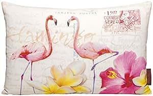 magma heimtex 24150 02 kissen bunte v gel flamingo 30 x 50 cm 100 baumwolle k che. Black Bedroom Furniture Sets. Home Design Ideas