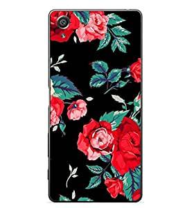 Fuson Designer Back Case Cover for Sony Xperia X :: Sony Xperia X Dual F5122 (Roses Rose Flowers Beautiful Roses Lovely roses Rose Buds)