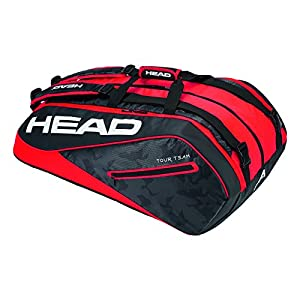 Head Tour Team 12R Monsterercombi Tennisschläger Tasche, unisex, Tour Team 12R Monsterercombi