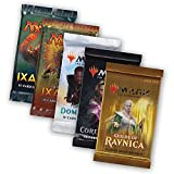 Magic The Gathering MTG Welcome Geschenk Set - 5 Booster Pack Guilds of Ravnica Coreset M19 Dominaria Rivals Ixalan - Englisch