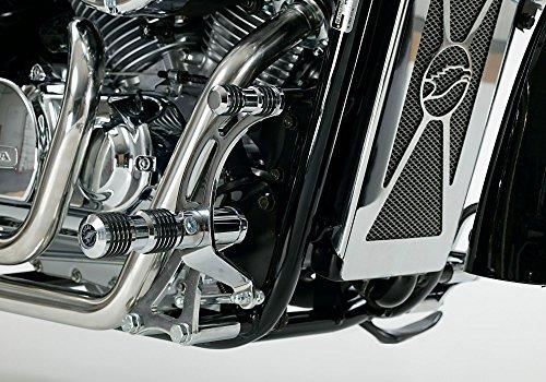 ußrasten silber VT750 Shadow Spirit RC53 2007-2009 (1807 ()