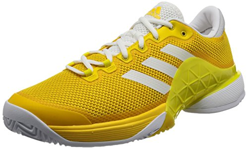 Adidas Barricade 2017, Scarpe da Tennis Uomo, Giallo (EQT Footwear White/Bright Yellow), 46 EU