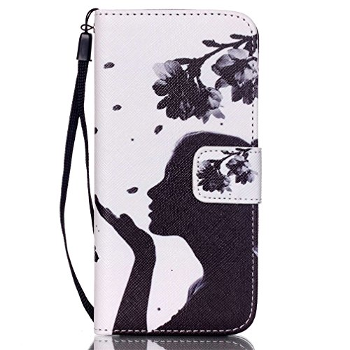 KATUMO® Hülle für Apple iPhone 6/6S Plus, Flip Cover Premium Ultra Thin PU Leder Wallet Case iPhone 6 Plus Handy Tasche Brieftasche Schale mit Kartenfächern und Standfunktion,Schiefer Turm Schönheit