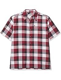 SCHÖFFEL - Camiseta de acampada y senderismo para hombre, tamaño 46 UK, color jester rojo