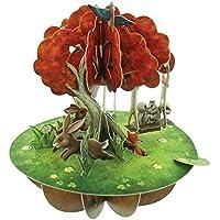 Santoro 3D Pirouette Carte de vœux Motif arbre