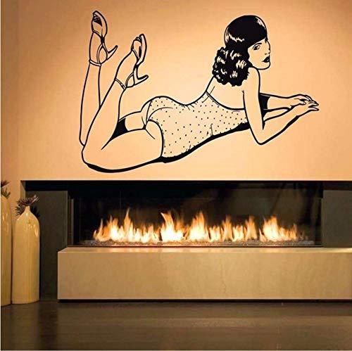 �Wand Room Decor Art Vinyl Aufkleber WandtattooPin Up Girl Poster ()