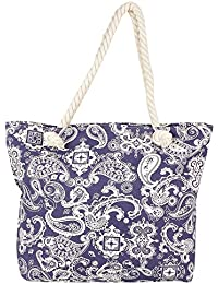 Elegant Floral Print Hand Bag For Mother's Day