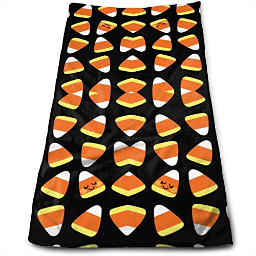 Hipiyoled Aloha Candy Corn Kawaii Bath Towels Quick Dry Towels Multipurpose Use for Bath,Hand,Face,Gym and Spa -