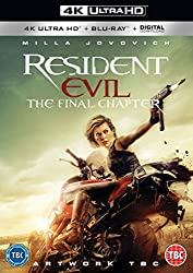 Resident Evil: The Final Chapter (2 DISC BD & UHD) [Blu-ray] [2017]
