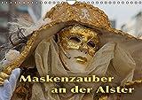 Maskenzauber an der Alster (Wandkalender 2016 DIN A4 quer): Ein jährlich wiederkehrendes Ereignis in Hamburg (Geburtstagskalender, 14 Seiten) (CALVENDO Kunst)