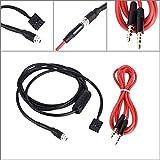 KKMOON AUX Eingang Modus 3,5 mm weiblichen Dash montierbar Kabelschuh für BMW E46 98-06-Audio-Kabel für Handy MP3-Player