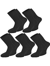 10 Paar Damen Baumwolle Socken (100 % Baumwolle) - in 2 Farben verfügbar