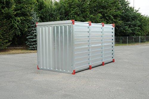 NEU Blechcontainer Baucontainer Garage Gerätecontainer Container Lagercontainer Gerätehäuser 3 m