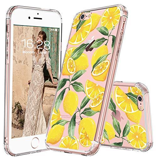 mosnovo iPhone 6S Schutzhülle/iPhone 6Fall, Lemon Fruit Muster klar Design bedruckter transparent Kunststoff Hartschale Schutzhülle TPU Bumper Schutzhülle für Apple iPhone 6/iPhone 6S (Schutzhülle Iphone 6 Fällen)