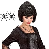 Spinnen Ohrringe Hexen Ohrschmuck Gothic Schmuck Gothic Ohr Clips Schwarze Witwe Halloween Kostüm Accessoire