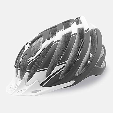 TKWMDZH® Uomini e donne che formano una equitazione casco bici strada , black