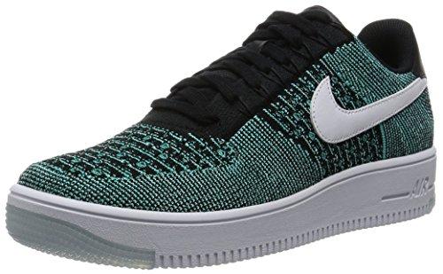 Nike Af1 Ultra Flyknit Low, Chaussures de Sport-Basketball Homme Verde (Verde (hyper jade/white-black-hyper turq))