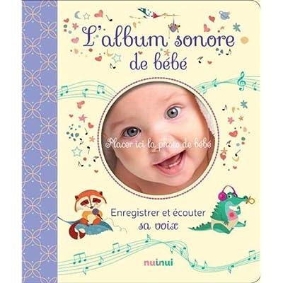 L'album sonore de bébé