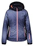 Icepeak Kinder Hermia Junior Jacke, Lead-Grey, Size 128 cm