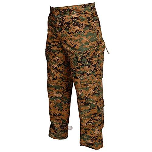 pantalon tactique multipoches woodland digital XL