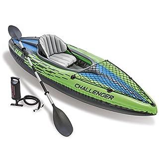 Intex Challenger K1 Kayak - One Person Kayak