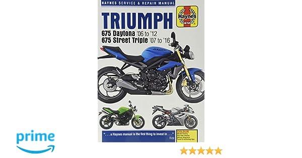 triumph daytona 675 2006 2007 repair service manual