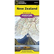 Neuseeland: NATIONAL GEOGRAPHIC Adventure Maps (Adventure Map (Numbered))