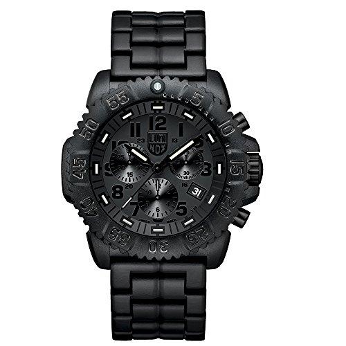Luminox Navy SEAL Colormark Herren-Armbanduhr Chronograph Quarz Plastik - XS.3082.BO
