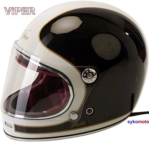 Viper Moto F656 INTEGRAL ESTILO RETRO VINTAGE CLASSIC