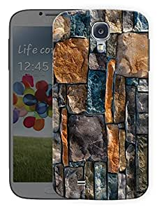 "Humor Gang Brick Wall Pattern Printed Designer Mobile Back Cover For ""Samsing Galaxy S4"" By Humor Gang (3D, Matte Finish, Premium Quality, Protective Snap On Slim Hard Phone Case, Multi Color)"