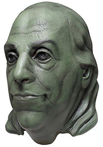 (Benjamin Franklin Latexmaske)