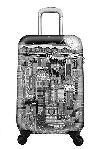 ... 50% SALE ... PREMIUM DESIGNER Hartschalen Koffer - Heys Künstler Fazzino Manhattan - Handgepäck Manhattan