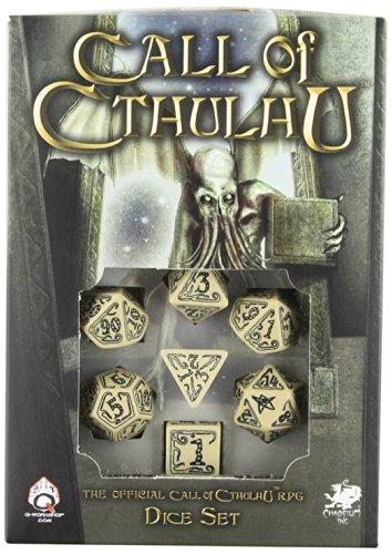 Q Workshop Call of Cthulhu RPG Beige & Black Ornamented