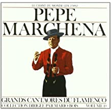 Great Masters of Flamenco Vol.10 by Pepe Marchena (2013-02-12)