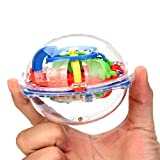 Juguete Del Bebé, Oyedens 75 Barreras de Laberinto 3D Magic Intelecto Ball Balance Laberinto Perplexus Puzzle Toy