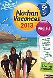 Nathan Vacances Anglais - De la 5e vers la 4e