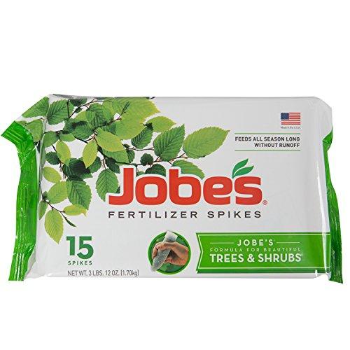 jobes-1610-tree-outdoor-fertilizer-food-spikes-15-pack-garden-lawn-supply-maintenance