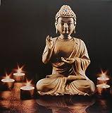 großes LED Bild Buddha mit 5 LEDs