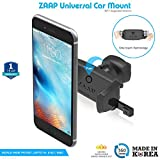 #6: ZAAP Premium Universal Mobile Phone Car Mount/Car Mobile Holder With 360° Rotation (Black)