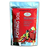 Casa De Amor All Purpose Ready to Use Organic Potting Soil Mix Enriched With Organic Fertilizer, 5 Kg