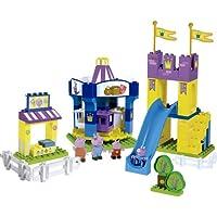 Peppa Pig - Parque atracciones, juego de construcciones (Simba 4465673)