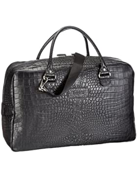 Bugatti Bags Kroko Weekend Bag  49518301, Herren Tasche 50x19x34 cm (B x H x T)