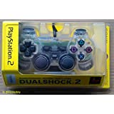 Official Sony PS2 Dual Shock Controller - Crystal