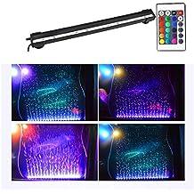 LHY LIGHT Lámpara Tira Pecera Sumergible de Color con Control Remoto, iluminación del Acuario con