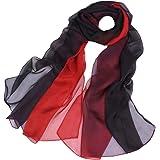 WZTP pañuelos de Emulación seda Mujer Mantón Bufanda Moda Señoras Playa Estolas Fular