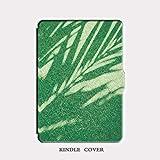 Kindle Cover Paperwhite4 Licht Schatten Gras Muster 10. Generation 6-Zoll-Literarische Persönlichkeit E-Reader Shell Schlanke Dünne Bruchsichere Hülle