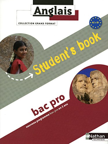 Anglais - Student's book - niveau A2>B1